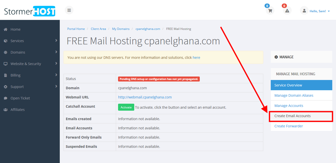 create free email accounts -stormerhost4